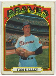 1972 Topps Baseball Cards      097      Tom Kelley